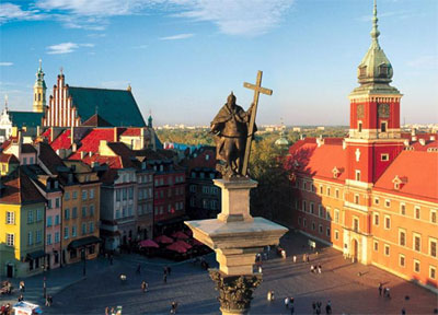 Warsaw-old-city
